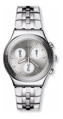 reloj swatch crystal cascade ycs580g | envio gratis