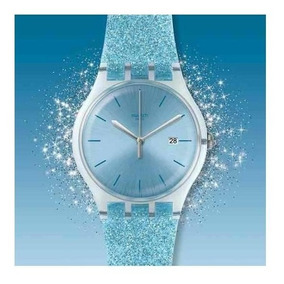 Agente Oficial Glittersky 400 Suos Reloj Swatch Dama kiuXZTOP