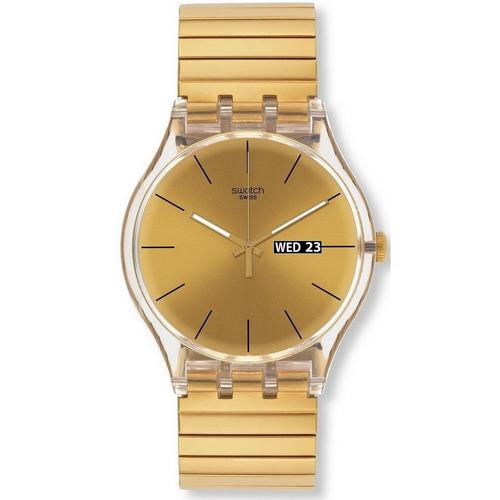 reloj swatch dazzling light suok702b local barrio belgrano