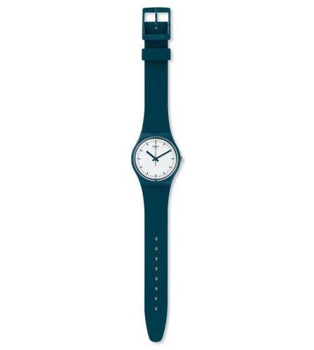 reloj swatch de plástico color petróleo gg222