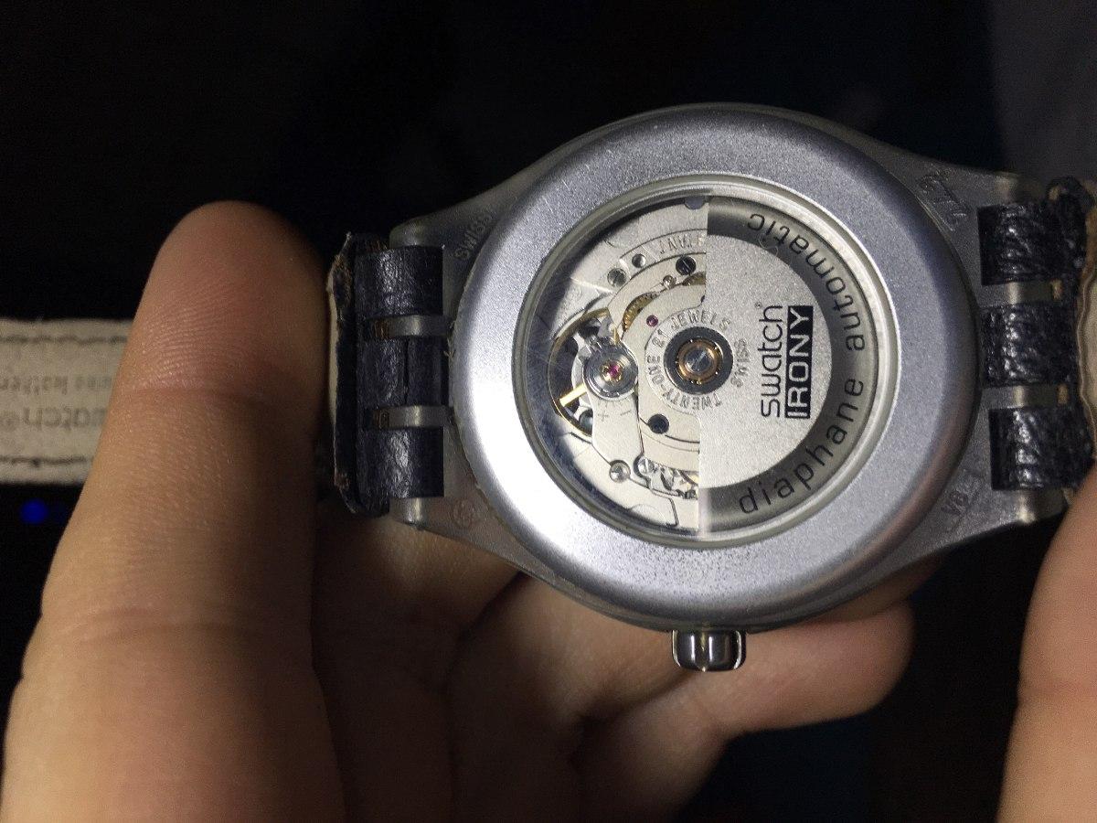 8a712d4a5e95 Reloj Swatch Diaphane Automatico