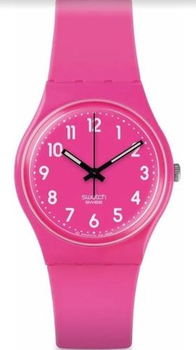reloj swatch dragon fruit soft - gp128k