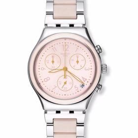Reloj Swatch Dreamnight Rose Ycs588g Mujer Envio Gratis