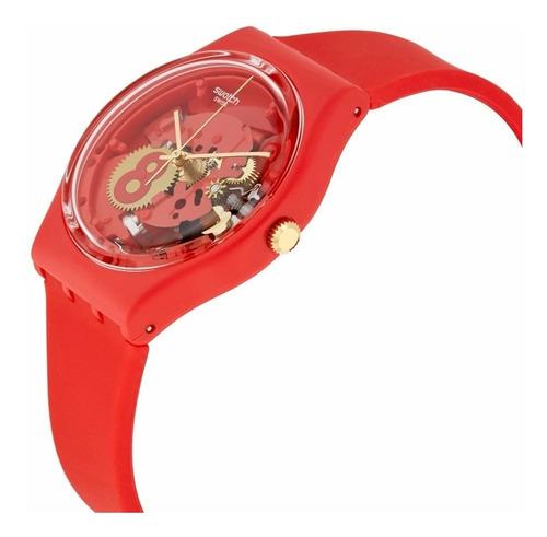 reloj swatch eight for luck gr166 unisex| envío gratis