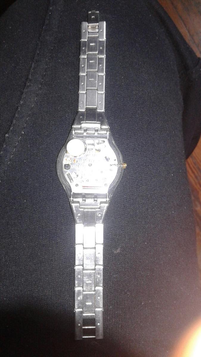 Maya No Entera Acero700 00 Funciona Swatch Reloj Extra Chato 92WDEHIY