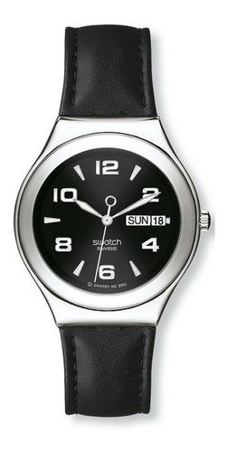 reloj swatch feature steel ygs737   original envío gratis