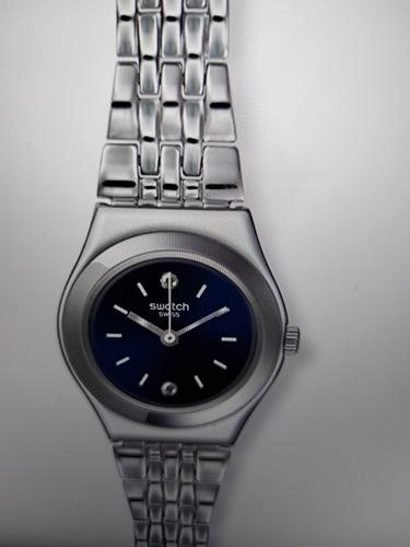 reloj swatch fino mujer