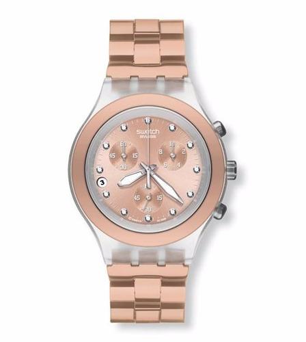 reloj swatch full-blooded caramel