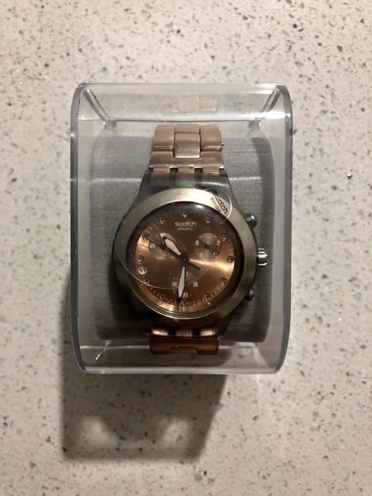 Swatch Blooded Miami6 Full 00 En 000 Caramel Reloj Comprado c5qj4RL3A