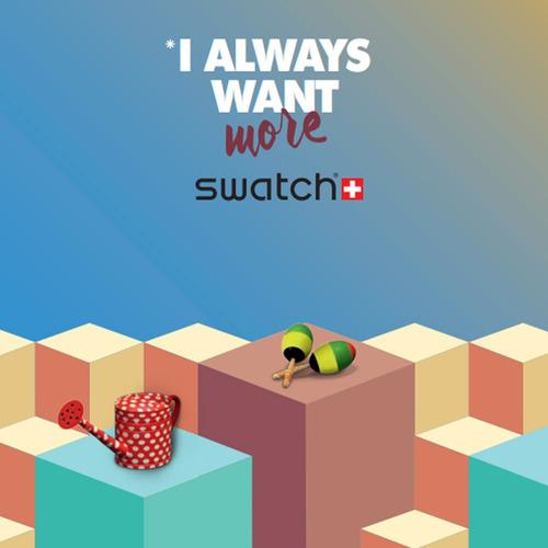 reloj swatch full-blooded caramel svck4047ag envio gratis