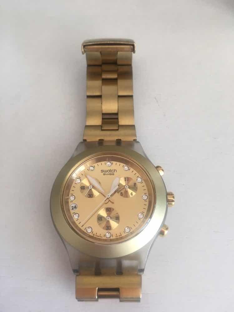 Blooded Full Dorado Svck4032g Reloj Swatch xsdhrCtQ