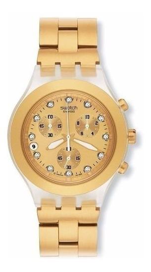 Full Reloj Swatch Svck4032gOriginal Blooded Dorado Y6fI7mgbyv