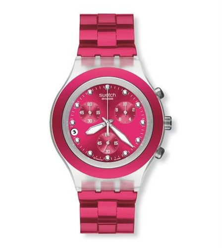 reloj swatch full blooded raspberry svck4050a agente oficial