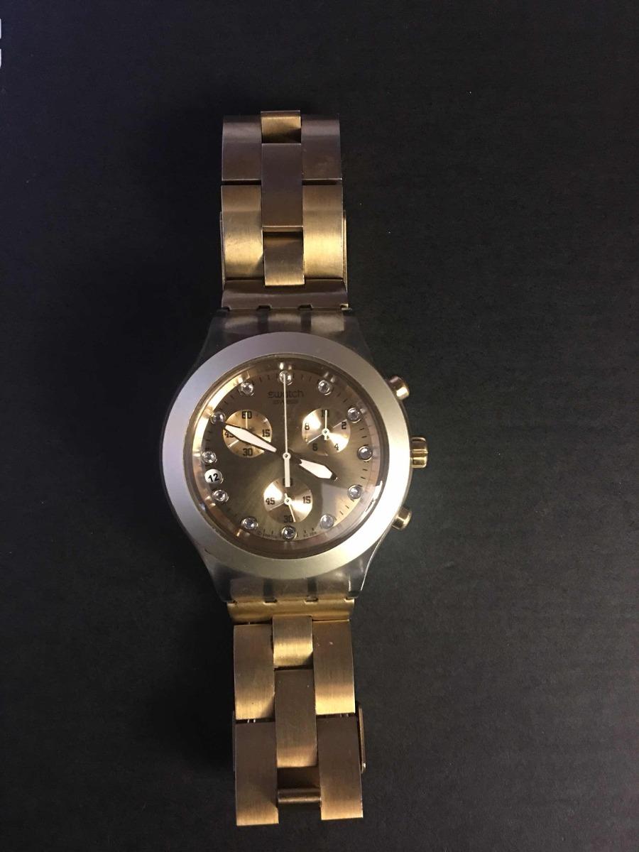 Fullblooded Swatch 500 00 Dorado3 Reloj kuwZPTOiX