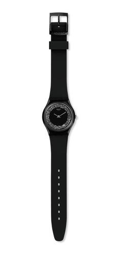 reloj swatch gb312 sparklenight - 34mm