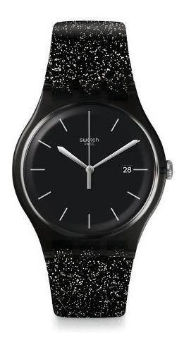 reloj swatch glitternight suob403   original envío gratis