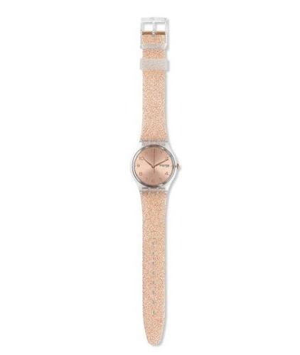 reloj swatch glitterrose ge716 | original  envío gratis