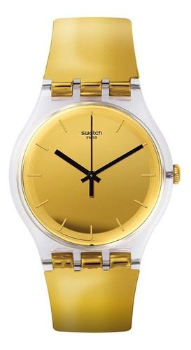 reloj swatch goldenall suok120 | original envío gratis