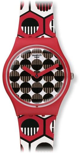 reloj swatch gr163 rojo