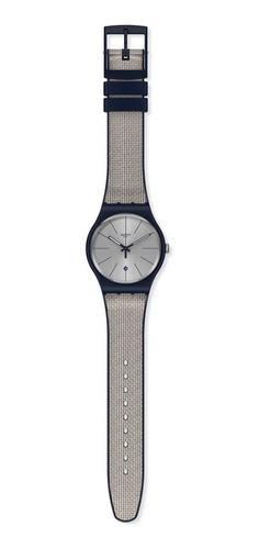 reloj swatch grey cord suon402