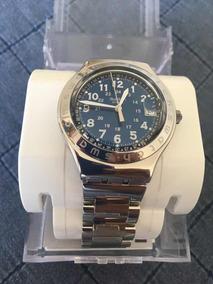 SteelnuevoEscucho Reloj Ofertas Joe Blue Swatch Happy Onk80wPX