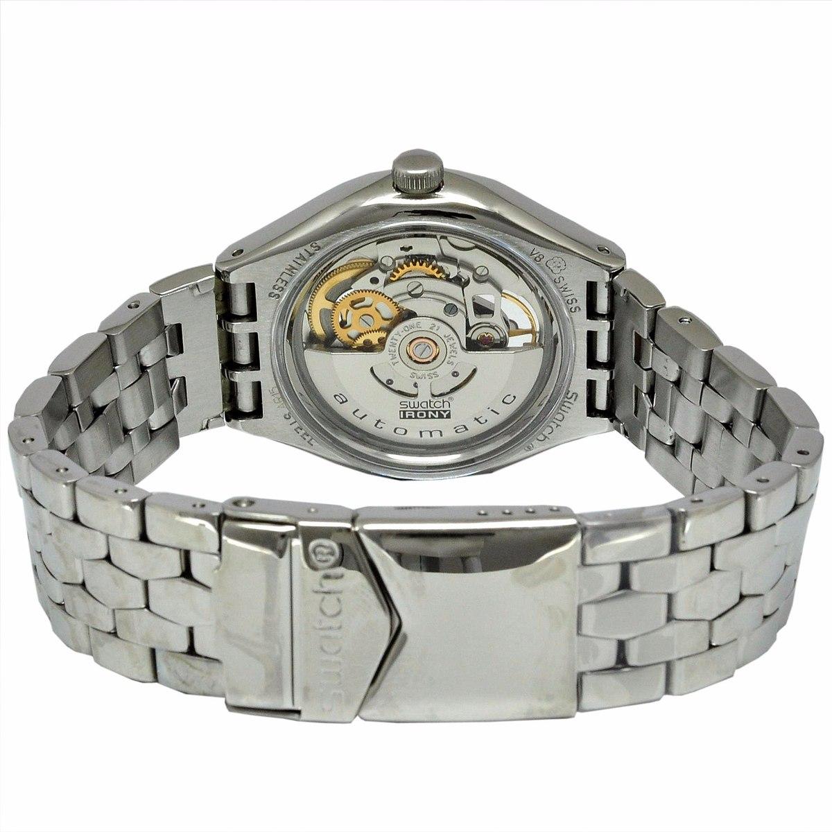 Reloj Swatch Hombre Autom 225 Tico Modelo Yas 100g Origonal