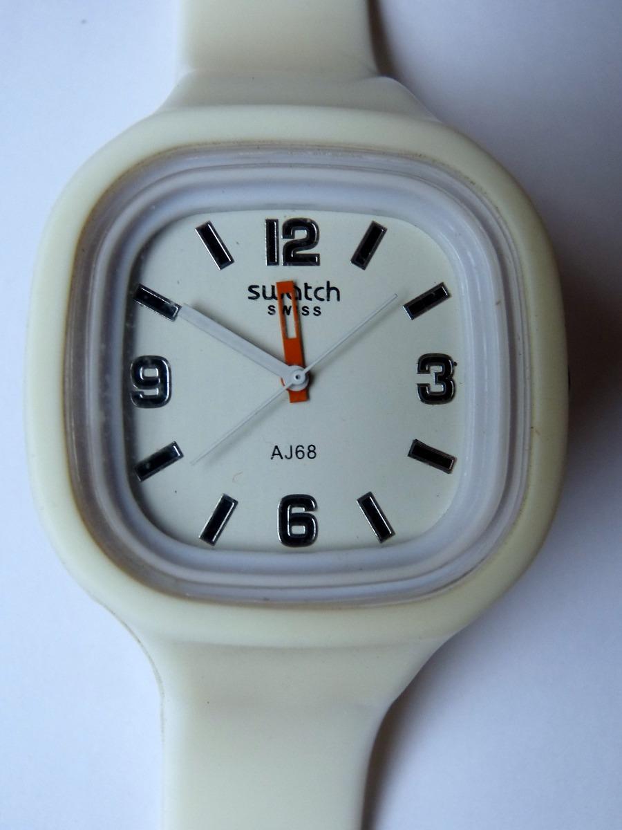 Aj68711 Swatch Reloj Cuadrado Modelo Hombre 78 iTPukOZX