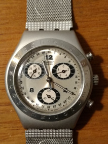 los Angeles 86e88 817e1 Reloj Swatch Irony Chrono Aluninium Water Resistant