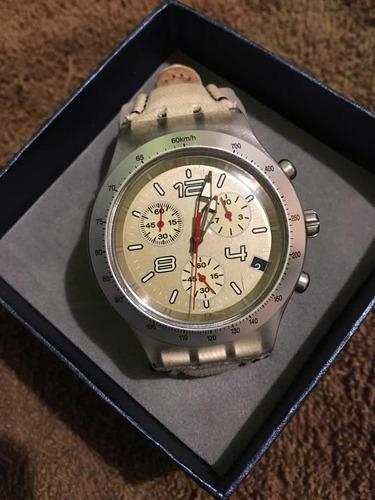 reloj swatch irony diaphane v8
