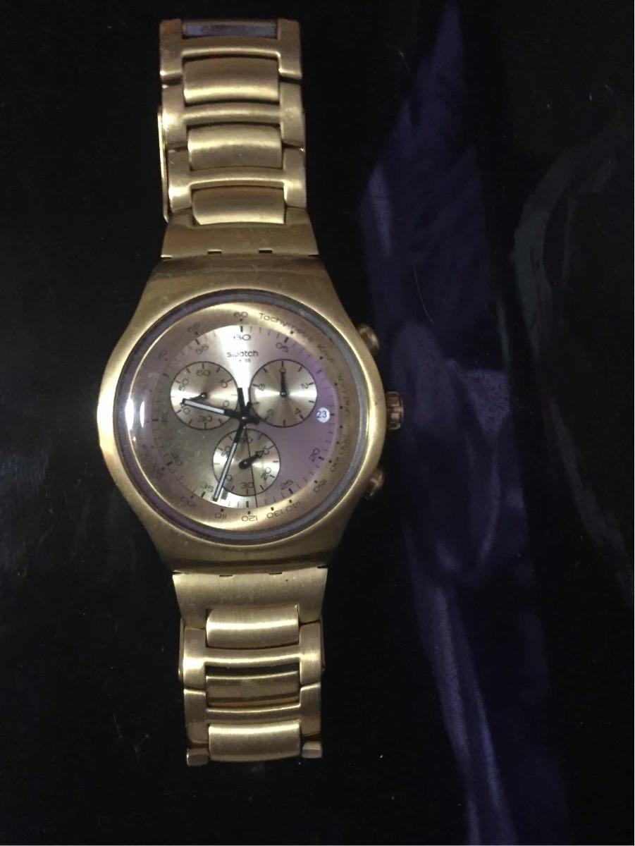 Dorado Irony Swatch Reloj Reloj Swatch Irony dBxrCeWo