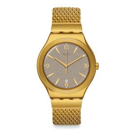Reloj Swatch Irony Mesh O' Honey Ywg409m