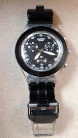 En Subasta Para Reloj 1 Peso Swatch Desde Negro De Acero yYb7Igf6v