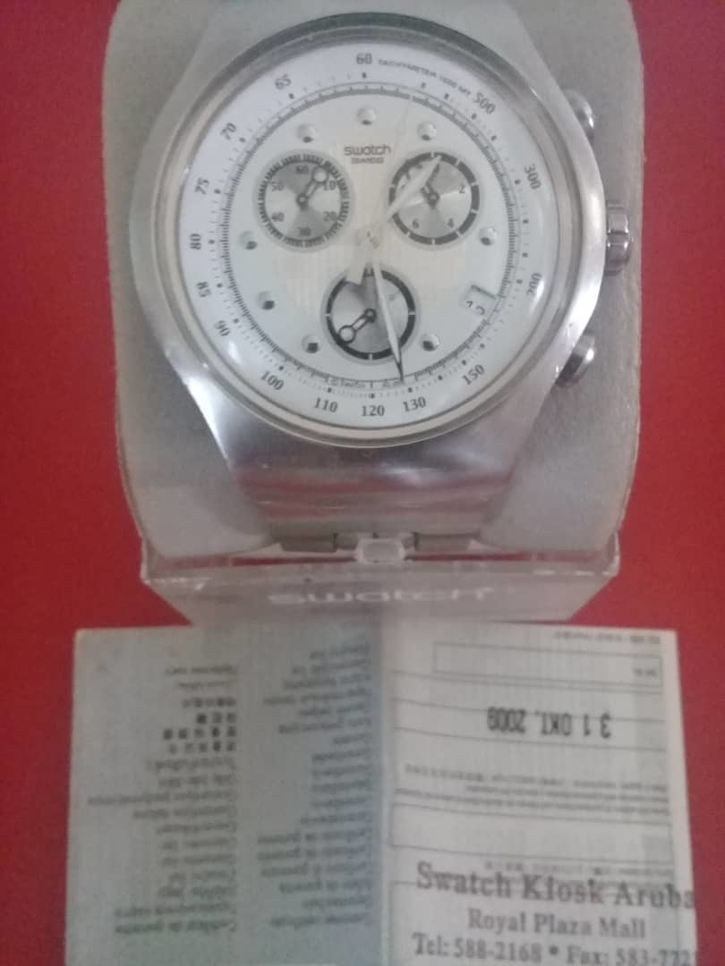 Bs190 000 Reloj Swatch Irony PlataOriginal 00 QrhdCxBts