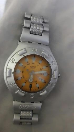 reloj swatch irony scuba 200 edición es. 007 original