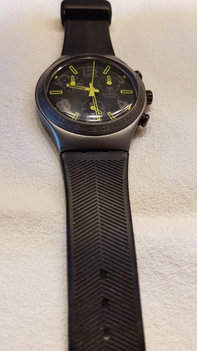 Ray 000 Reloj Irony Of Aluminium5 Ycm4000 Light Swatch 00 Black ChQBtrsdx