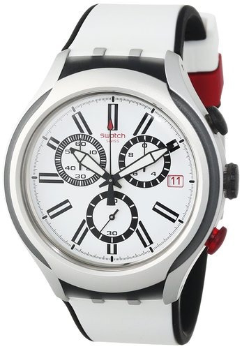 reloj swatch mens irony yys blanco