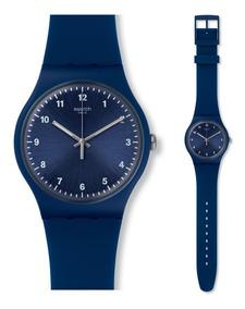 Reloj Swatch Mono Blue Unisex Suon116 | Envío Gratis