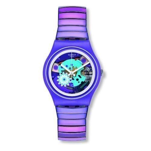 58bca2ab241b Reloj Swatch Gv129b Acero Morado Mujer -   269.900 en Mercado Libre