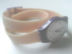 super popolare 07a4d 9d5ee Reloj Swatch Mujer Malla Larga Pila Nueva