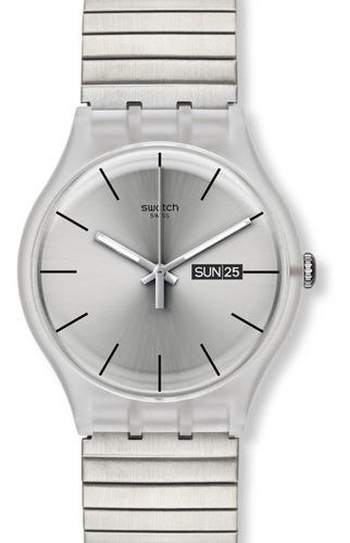 reloj swatch mujer resolution suok700 envio gratis garantia oficial
