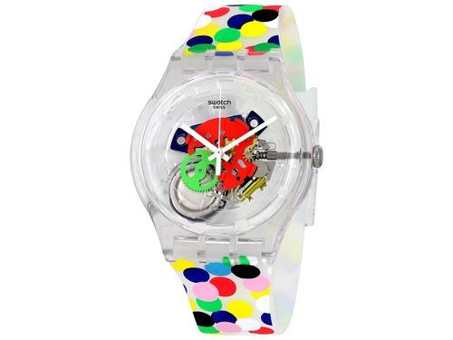 reloj swatch new gent spot the dot suoz213 | envío gratis