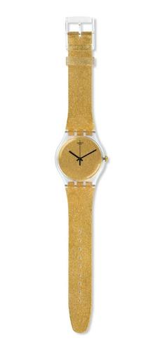 reloj swatch nuit doree suok122 original