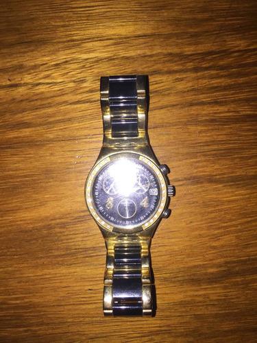 reloj swatch original dreamnight golden poco uso