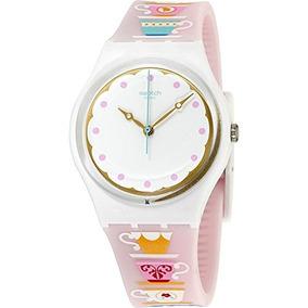Swatch Reloj De Con High Tea Esfera BlancaCorrea Originals SVzMpqGjUL