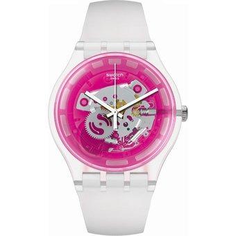 88d4947ad75a Reloj Swatch Para Dama Suok130 Nueva Colección Pinkmazing ...