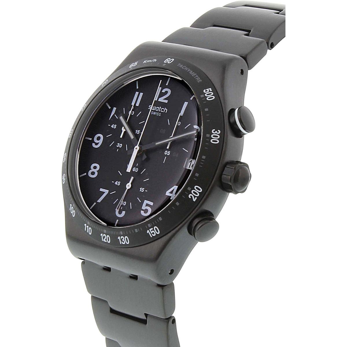 Reloj Swatch Para Hombre Yvb402g Negro Acero Inoxidable -   901.550 ... 9d1f5fecb7d8