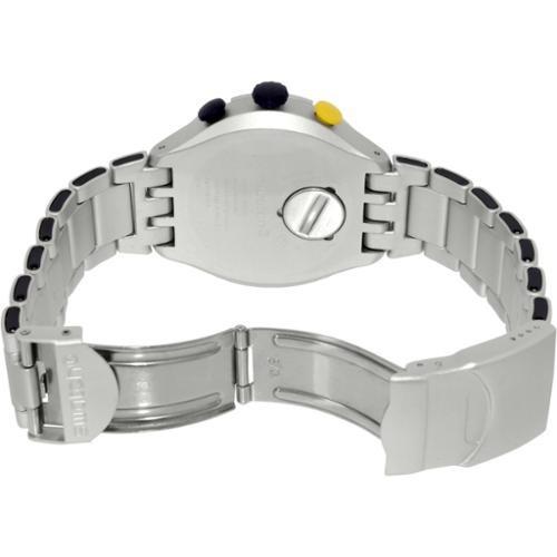 Aluminio Hombre Reloj Para Plateado Suizo Swatch Yys4006ag BWdQErCxoe