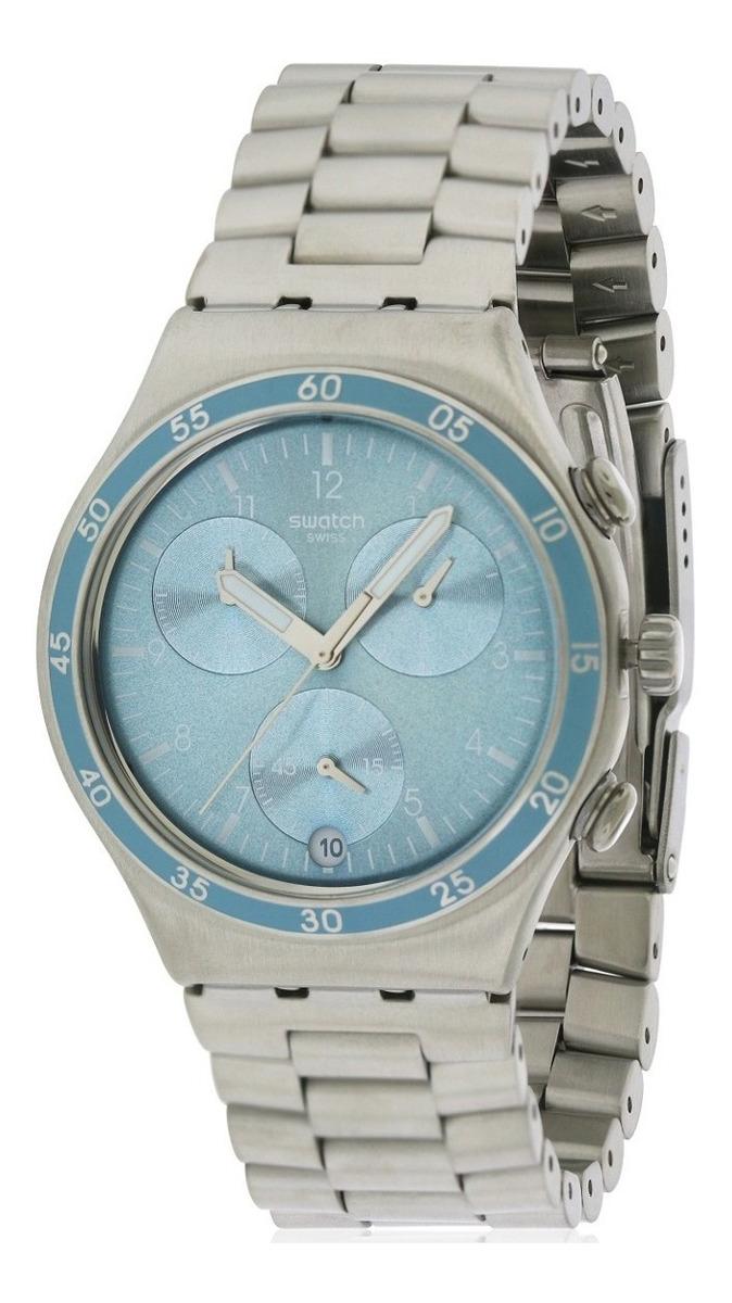 Mujer Ycs589gCon Reloj Clear Para Water Swatch Cronografo 8wPNk0OXn