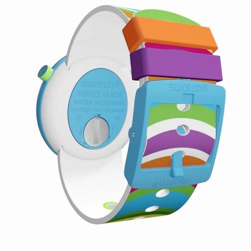 reloj swatch pop popadelic pnl100   original envío gratis