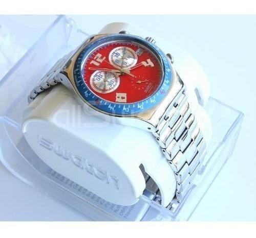 reloj swatch rosso furore ycs494g | original envío gratis